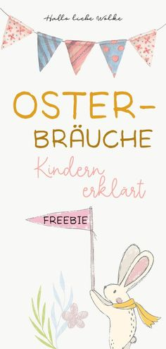 "Why do we celebrate Easter? ostern history children kiga kindergarten freebieWhy do we celebrate Easter? Princess Blaublüte and Wilma Wochenwurm explain it to children in kindergarten, kindergarten and elementary school. With Freebie coloring page ""Easter"