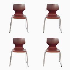 Pagholz Beistellstühle von Elmar Flötotto, 1970er, 4er Set Jetzt bestellen unter: https://moebel.ladendirekt.de/kueche-und-esszimmer/stuehle-und-hocker/esszimmerstuehle/?uid=aa9e8a2c-3cd2-5c22-8f06-e982176b3984&utm_source=pinterest&utm_medium=pin&utm_campaign=boards #kueche #sets #esszimmerstuehle #esszimmer #hocker #stuehle Bild Quelle: pamono.com