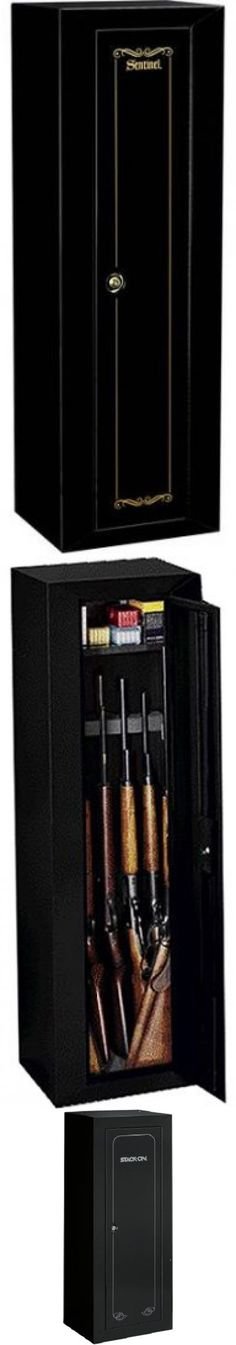 Cabinets And Safes 177877: Gun Safe 10 Rifle Firearm Storage Security Lock  Cabinet Case Rack