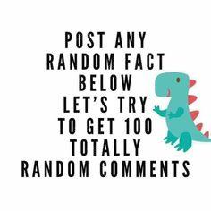 Random Fact. Facebook / Social Media Engagement Post. Interactive Posts.