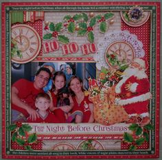 Twas the Nigth before Christmas - Scrapbook.com