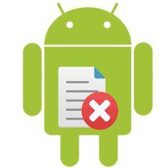 как удалить удаленные файлы на андроиде