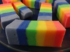 rainbow-fudge---Rainbow Fudge!!!===>>>http://www.afternoonrecipes.com/rainbow-fudge/