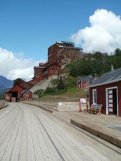 Kennicott Mill Buildings, Wrangell - St. Elias National Park, Alaska