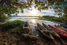 Laguna El Jocotal, San Miguel. El Salvador