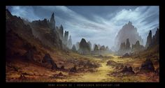 The Wasted Lands by ReneAigner on deviantART