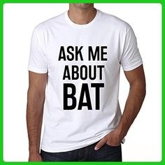 Ask me about bat, mens tshirts, ask me about tshirt, gift tshirts - Animal shirts (*Amazon Partner-Link)