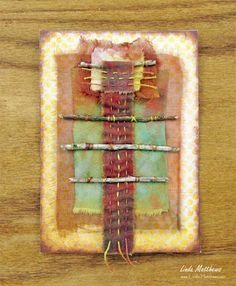 Nature Memory Journal Page: Stick Totem