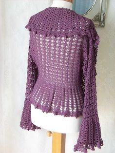 30 Easy To Make Crochet Simple Shrug Ideas | DIY to Make