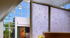 BB Commercial Solutions decorative office tinting adds a touch of design to privacy screens. Perfect for bringing out the personality of your company!