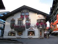 Seefeld, Tyrol, Austria. Have a picture of this but unfortunately it was raining very hard.