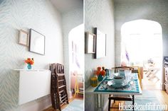 8 Smart Solutions If You Don't Have a Dining Room #home #dining #smartdecor #interiordesign