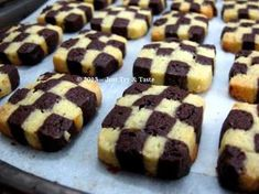 Just Try & Taste: Checkerboard Cookies - Si Kue Papan Catur