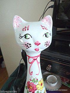 Italian MADE IN ITALY Bitossi Italian art pottery mid-century modern Cat Bank | eBay