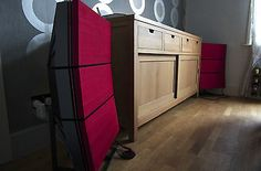 Bang & Olufsen Beovox RL 140 Speakers - re-coned and re-covered