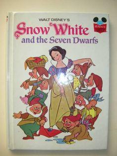 洋書 白雪姫と7人のこびと アンティーク SNOWWHITE インテリア 雑貨 家具 Antique books ¥1280yen 〆04月28日