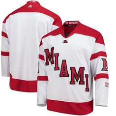 13 Best Miami University Hockey Jersey (Brian Savage  17) images ... afd2a3f3cc3