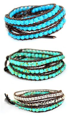 Beautiful Beaded Wrap Bracelets