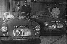 MBL 167 - MJB 167  Factory Rally Cars