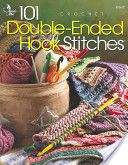 101 Double-Ended Hook Stitches: Crochet. This is a must-have resource for crohooking as there are so few available. I use it every time I pull out the double-ended hook.