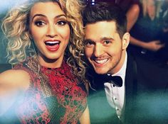 Tori Kelly and Michael Bublé