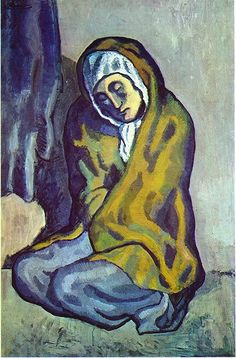 Crouching beggar, Pablo Picasso, 1902
