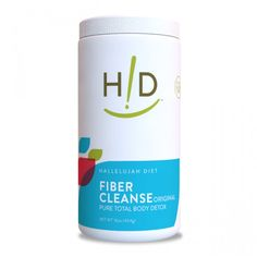 Fiber Cleanse Powder - Natural Colon Cleanse - (16 oz)