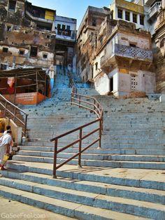 Stairway to heaven - Banaras (Varanasi), India