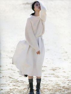 Ji Hye Park byEmma TempestFor Vogue Russia
