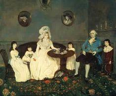 1788 Johannes Eckstein (American artist, 1736-1817) The Samels Family