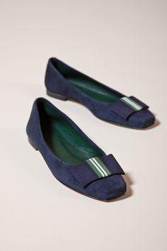 Gössl Online-Shop - Ballerina aus Veloursleder - Schuhe - Accessoires - Frauen