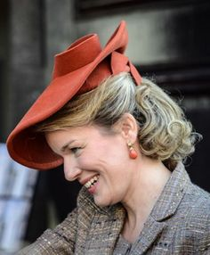 Queen Mathilde, October 2, 2013 | The Royal Hats Blog