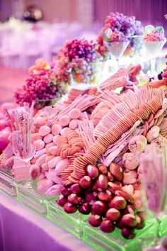 Sweet treats in a variety of colors, shapes, and sizes were served to the guests at the gathering. | www.BridalBook.ph