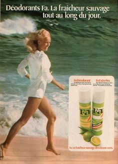 i remember using FA products - i think soap and shower gel. not sure about deodorant...