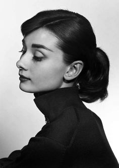 Audrey Hepburn by Yousuf Karsh, 1958.