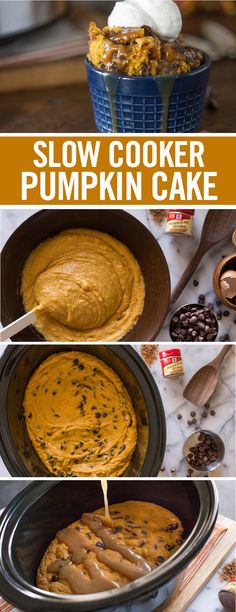Finish your Thanksgiving feast with the grand finale of all fall desserts – a moist, pumpkin cake base, studded with chocolate chips and topped with a sticky caramel sauce. Saving time, effort and oven space, this slow cooker dessert is a must-try. Scoop baked pumpkin cake into individual ramekins and top with whipped cream for a fancy, single-serving of indulgence. Tip: Swap out chocolate chips for your favorite candy bar of choice- a perfect way to use up leftover Halloween candy.