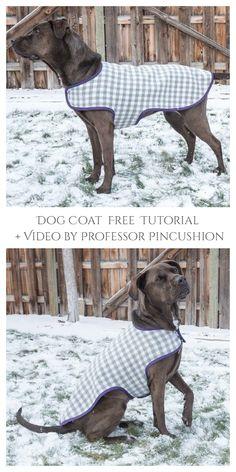 6 DIY Fabric Dog Coat Free Sewing Patterns | Fabric Art DIY