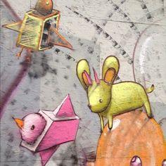 Cernesto Cernandez é americano, mais conhecido como Cern One. O artista mistura realismo e fantasia em seus coloridos grafites. Confira entrevista!
