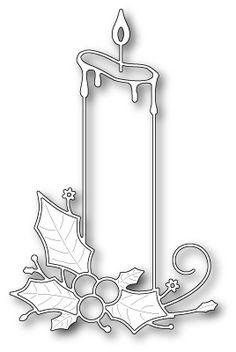 Memory Box - Die - Poinsettia Pillar