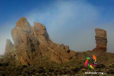 Roque Cinchado  #teide #landscape #hiking #hike #outdoors #senderismo #trekking #islascanarias #paisajes #españa #tenerifesenderos