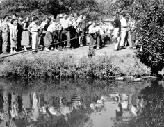 McPherson College students Tug of War across Lakeside