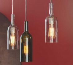 How to Make a Hanging Lamp from a Wine Bottle