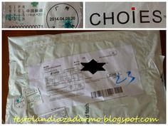 Dzisiejsza poczta ... z Chin