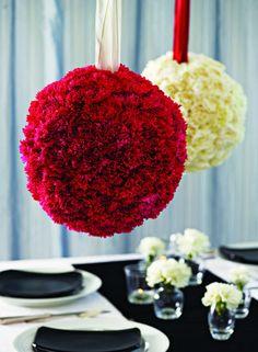 """DIY Carnation ceremony   Wedding planner: """"The DIY Bride Crafty Countdown"""" helps cut wedding ..."""