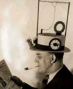 Nowadays we can listen to music, watch movies and read the news on our smartphones. But back in the day, if you wanted to keep up-to-date with everything, you could wear a Radio Hat.