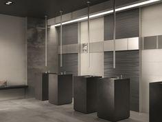 Revestimiento de pared de Wall&Porcelain™ DO UP TOUCH by ABK Industrie Ceramiche     /     Idea estructura baño (pared+lavamanos)!!!!!