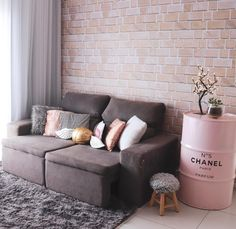 Inspirational ideas about Interior Interior Design and Home Decorating Style for Living Room Bedroom Kitchen and the entire home. Curated selection of home decor products. Interior Design Living Room, Living Room Designs, Living Room Decor, Bedroom Decor, Deco Rose, Pinterest Home, Home And Living, House Design, Home Decor