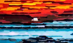 Short Strip Sunset