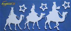 Pracownia Dekoracji ARQ - DECOR - Trzej Królowie - dekoracje na jasełka (NA ZAMÓWIENIE)