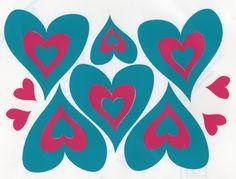 Hippy motors heart car stickers camper van decals caravan stickers turq.jpg